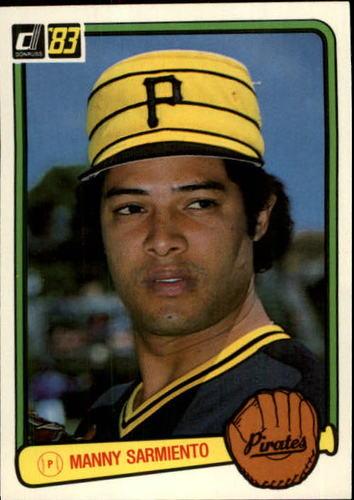 Photo of 1983 Donruss #502 Manny Sarmiento