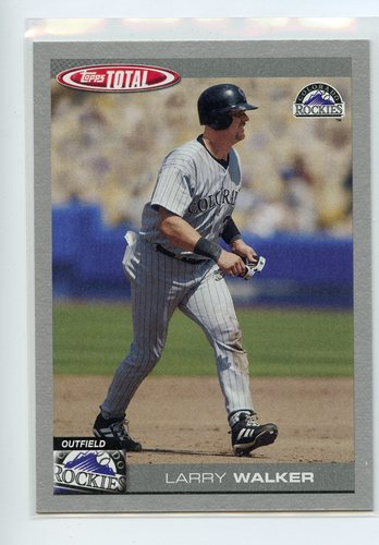Photo of 2004 Topps Total Silver #325 Larry Walker