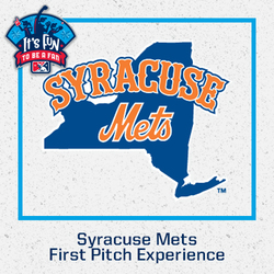 Photo of Syracuse Mets First Pitch Experience