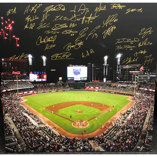 Photo of 2020 Team Autographed Canvas