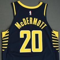 Doug McDermott - Indiana Pacers - Game-Worn Icon Edition Jersey - NBA India Games - 2019-20 NBA Season