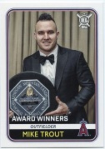 Photo of 2020 Topps Big League #266 Mike Trout AW