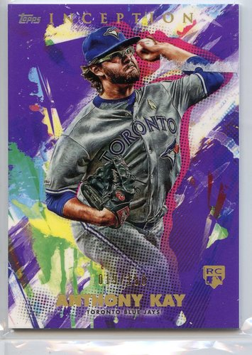 Photo of 2020 Topps Inception Purple #53 Anthony Kay