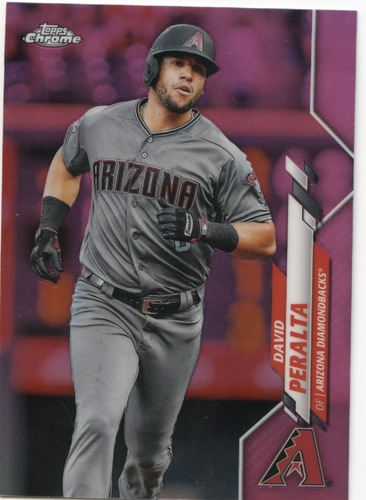 Photo of 2020 Topps Chrome Pink Refractors #15 David Peralta