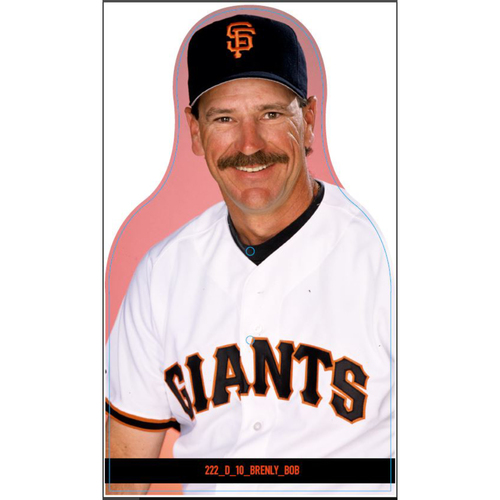 Photo of Giants Community Fund: Giants Bob Brenly Cutout