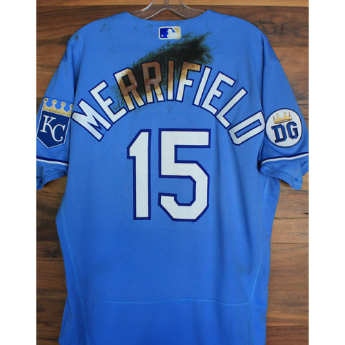 Alex's Lemonade Stand Foundation: Game-Used Whit Merrifield Jersey (Size 44 - 9/26/20 DET @ KC)