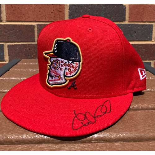 Photo of William Contreras MLB Authenticated and Autographed Los Bravos Style Hat