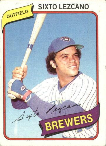 Photo of 1980 Topps #215 Sixto Lezcano