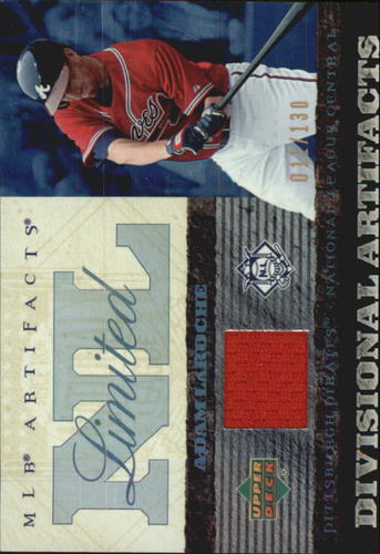 Photo of 2007 Artifacts Divisional Artifacts Limited #AL Adam LaRoche