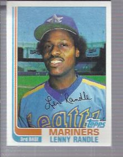 Photo of 1982 Topps #312 Lenny Randle