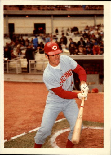 Photo of 1985 Topps Rose #46 Pete Rose/Showboating