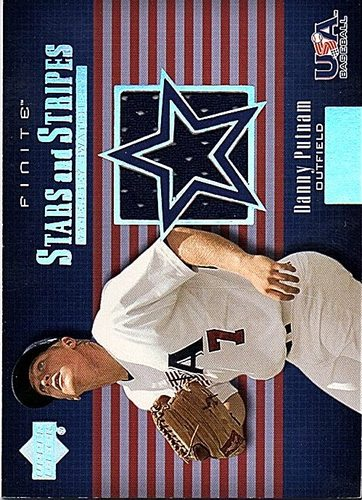 Photo of 2003 Upper Deck Finite Stars and Stripes Game Jersey #J19 Danny Putnam