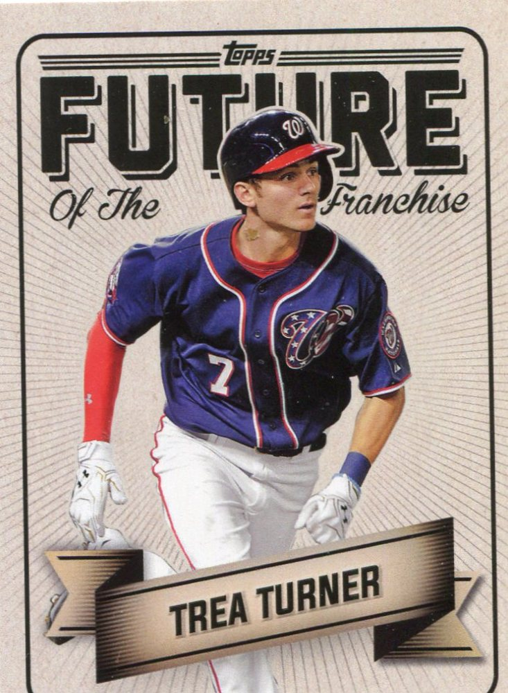 2016 Topps Bunt Future of the Franchise #FF4 Trea Turner