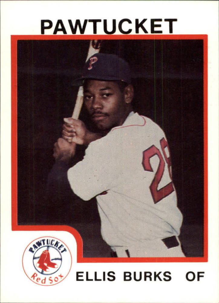 1987 Pawtucket Red Sox ProCards #73 Ellis Burks
