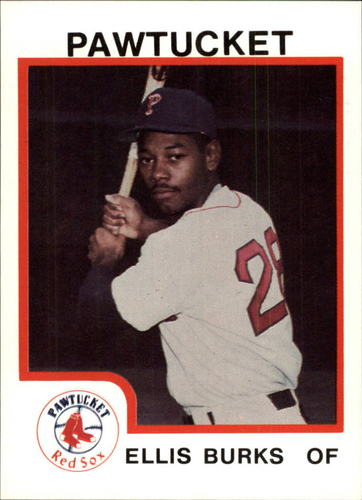 Photo of 1987 Pawtucket Red Sox ProCards #73 Ellis Burks
