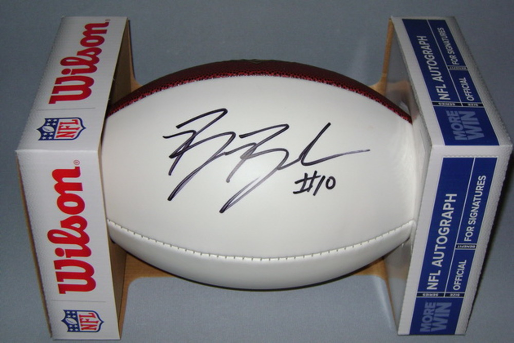 NFL - PANTHERS BEN BOULWARE SIGNED PANEL BALL