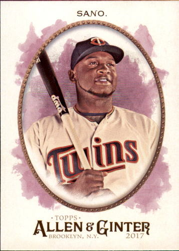 Photo of 2017 Topps Allen and Ginter #277 Miguel Sano