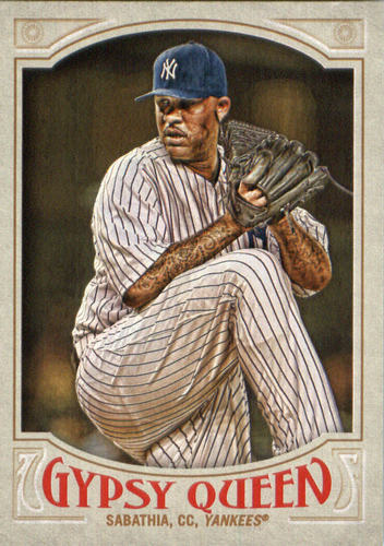 Photo of 2016 Topps Gypsy Queen #202 CC Sabathia -- Yankees post-season