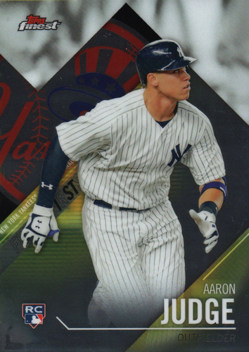 Photo of 2017 Finest Firsts #FFIAJ Aaron Judge