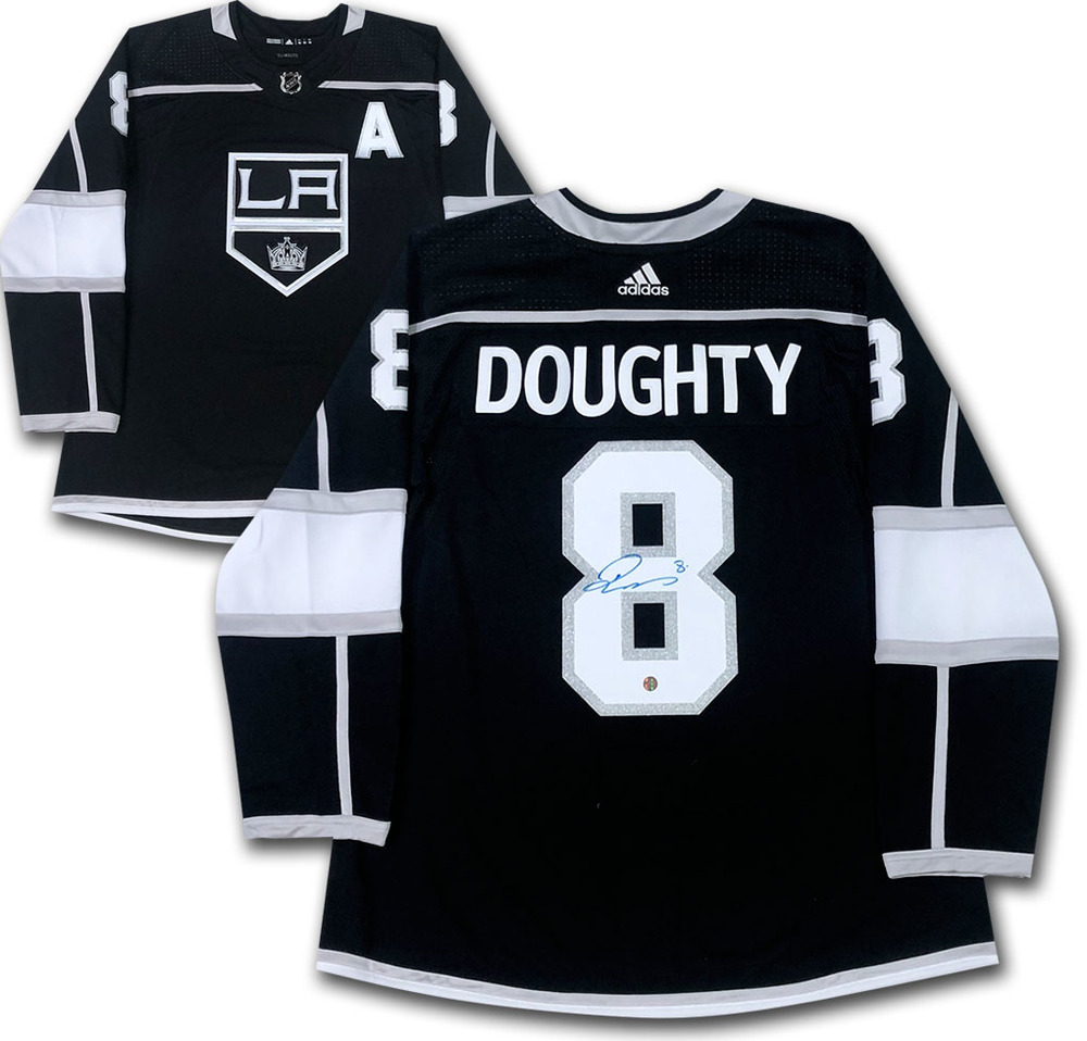 Drew Doughty Autographed Los Angeles Kings adidas Pro Jersey