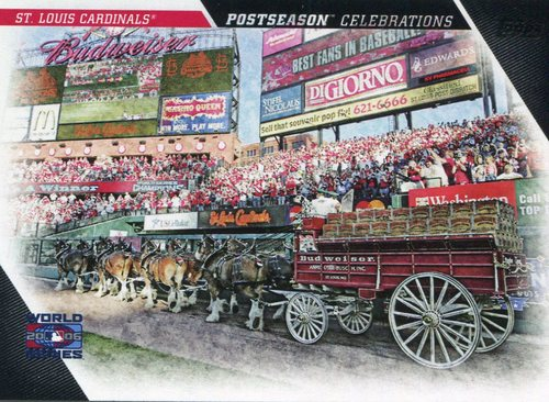 Photo of 2017 Topps Update Postseason Celebration #PC10 St. Louis Cardinals