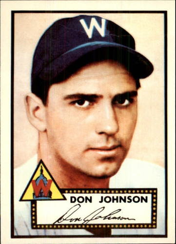 Photo of 1983 Topps 1952 Reprint #190 Don Johnson