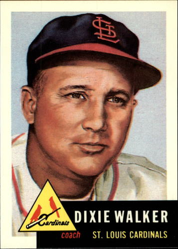 Photo of 1991 Topps Archives 1953 #190 Dixie Walker CO