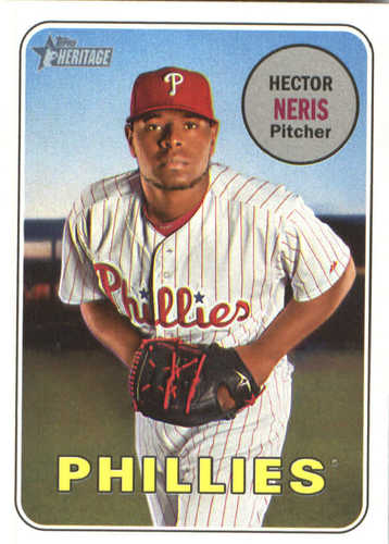Photo of 2018 Topps Heritage #184 Hector Neris