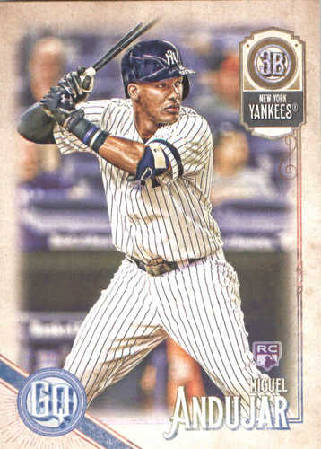 Photo of 2018 Topps Gypsy Queen #277 Miguel Andujar RC