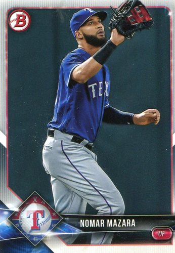 Photo of 2018 Bowman #56 Nomar Mazara