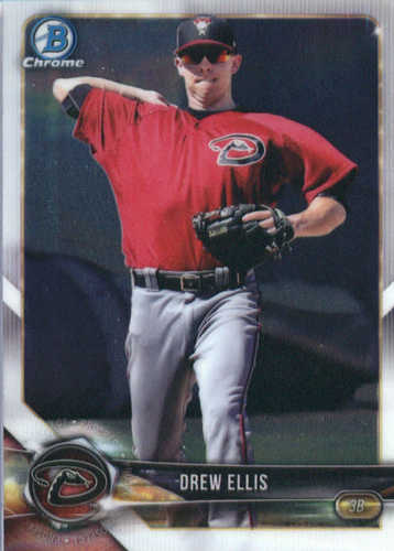 Photo of 2018 Bowman Chrome Prospects #BCP25 Drew Ellis