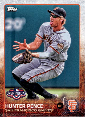 Photo of 2015 Topps Opening Day #114 Hunter Pence