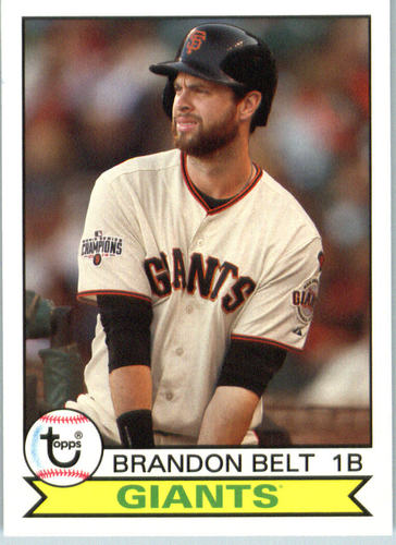 Photo of 2016 Topps Archives #170 Brandon Belt