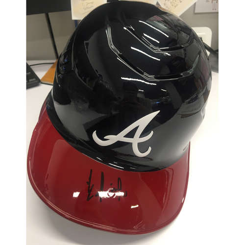 Photo of Ender Inciarte Autographed Batting Helmet