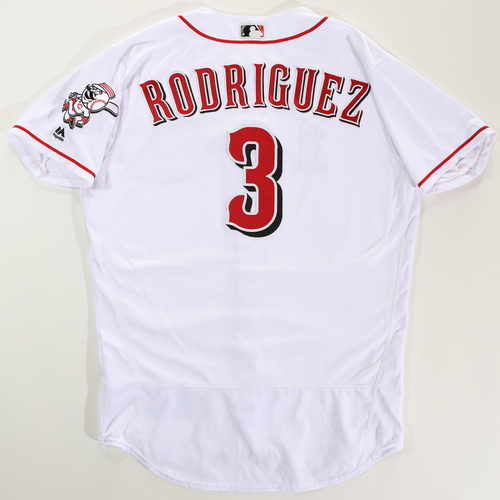 Photo of 2018 Arizona Fall League Game-Used Jersey - Alfredo Rodriguez -Size 46