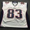 Patriots - Wes Welker Signed Authentic Jersey Size 48