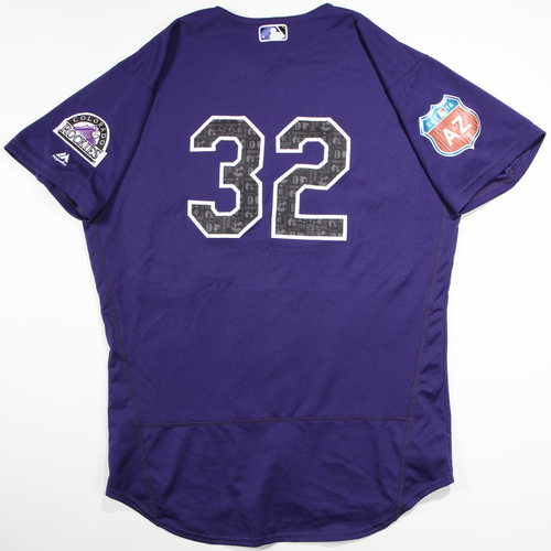 Photo of 2016  Spring Training -  Game-Used Jersey - Tyler Chatwood (Rockies) - Size 46