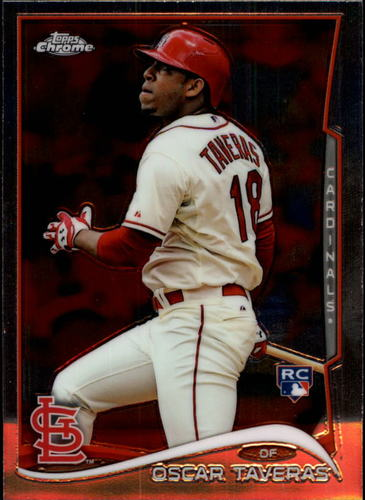 Photo of 2014 Topps Chrome #19 Oscar Taveras RC