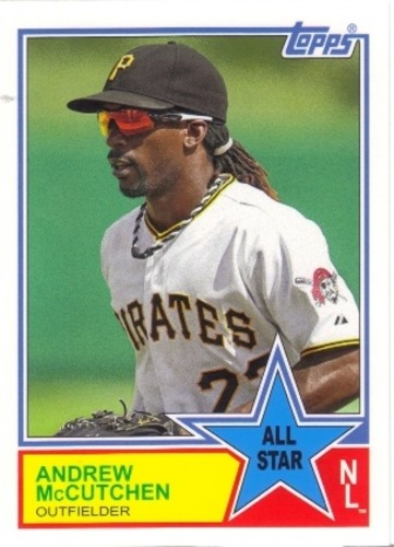 Photo of 2013 Topps Archives 1983 All-Stars #AM Andrew McCutchen