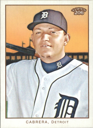 Photo of 2009 Topps 206 #230 Miguel Cabrera