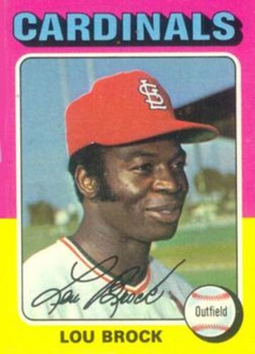 Photo of 1975 Topps #540 Lou Brock
