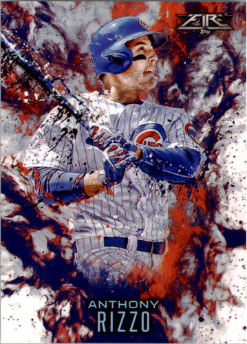 Photo of 2016 Topps Update Fire #F10 Anthony Rizzo