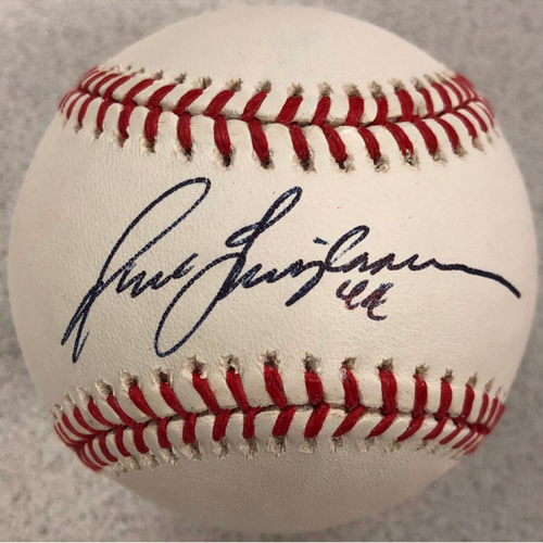 Photo of Cardinals Authentics: St. Louis Cardinals Jason Isringhausen Autographed Baseball