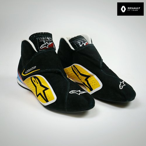 Photo of Jolyon Palmer 2016 Test-used Race Boots - Renault F1 Team