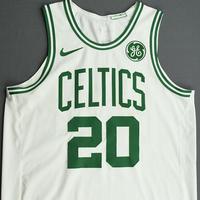 Gordon Hayward - Boston Celtics - Kia NBA Tip-Off 2019 - Game-Worn Association Edition Jersey - Game-High 25 Points