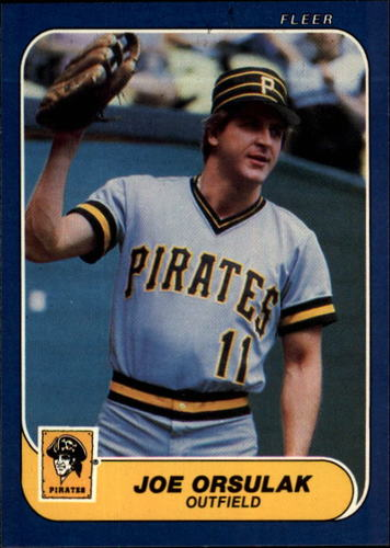 Photo of 1986 Fleer #615 Joe Orsulak RC*