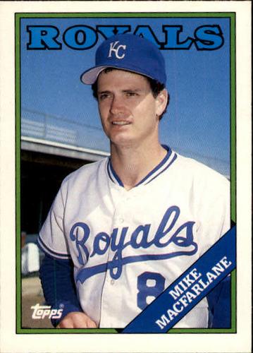 Photo of 1988 Topps Traded #62T Mike Macfarlane XRC