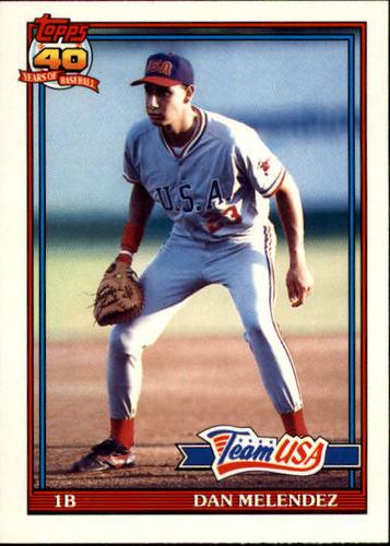 Photo of 1991 Topps Traded #80T Dan Melendez USA RC