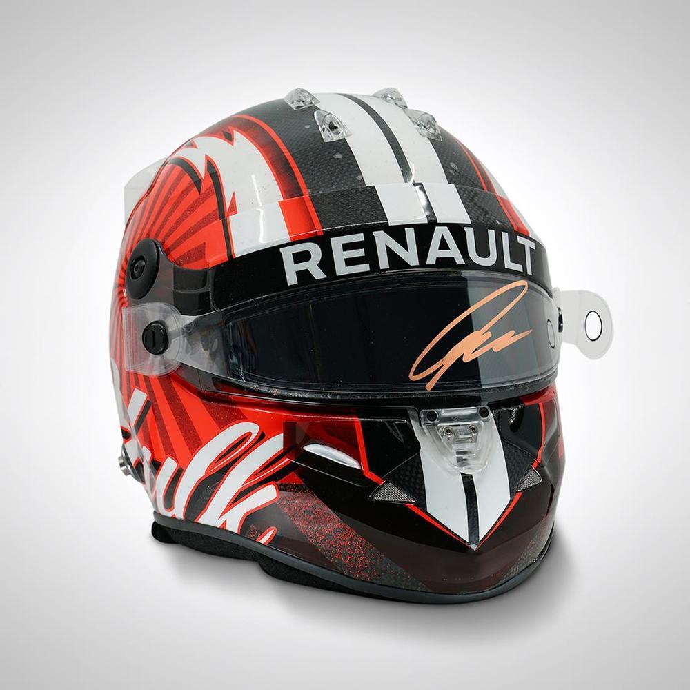 Nico Hülkenberg Race-used Signed 2017 Helmet