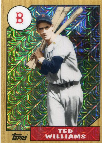 Photo of 2017 Topps '87 Topps Silver Pack Chrome #87TW Ted Williams S2